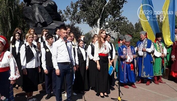 В Мариуполе зазвучал Всеукраинский фестиваль «Українська пісня єднає нас», фото-4