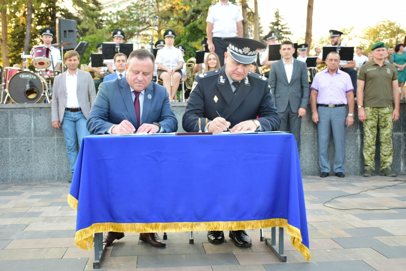 У Донецькому юридичному інституті МВС України відбулися урочисті заходи, присвячені складанню клятви курсанта та студента, фото-15