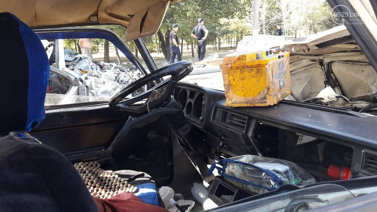 В Мариуполе две легковушки не разделили улицу Карпинского, -ФОТО, фото-3