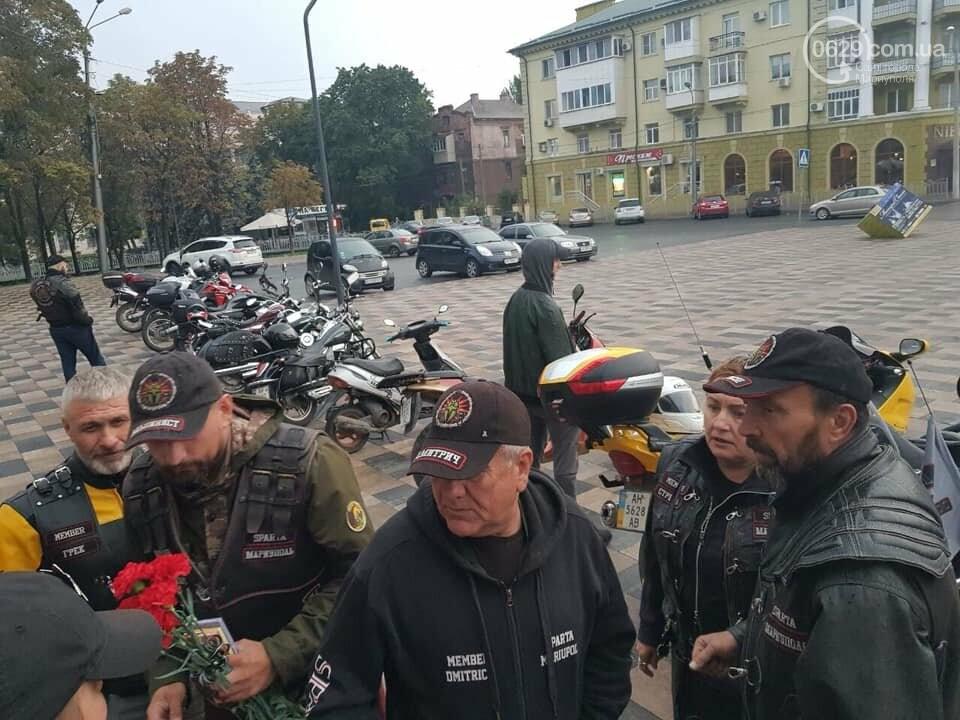 Мариупольские байкеры повесили  памятные таблички в честь погибших братьев,-  ФОТОФАКТ, фото-7