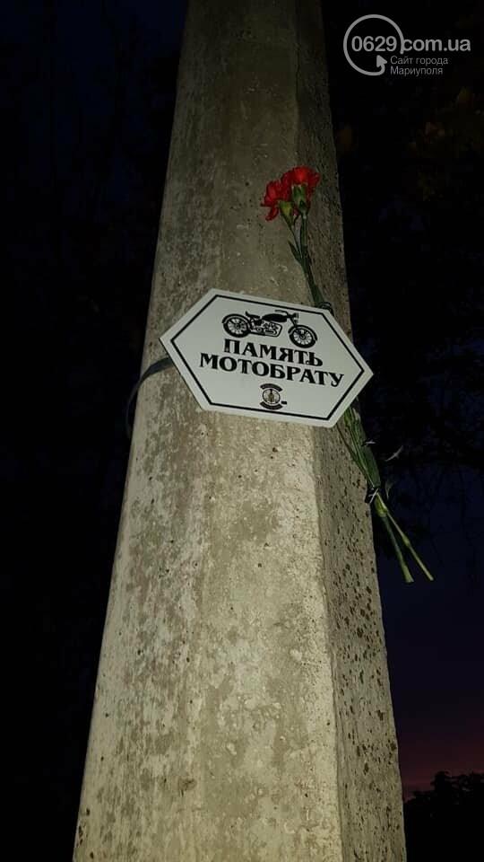Мариупольские байкеры повесили  памятные таблички в честь погибших братьев,-  ФОТОФАКТ, фото-2