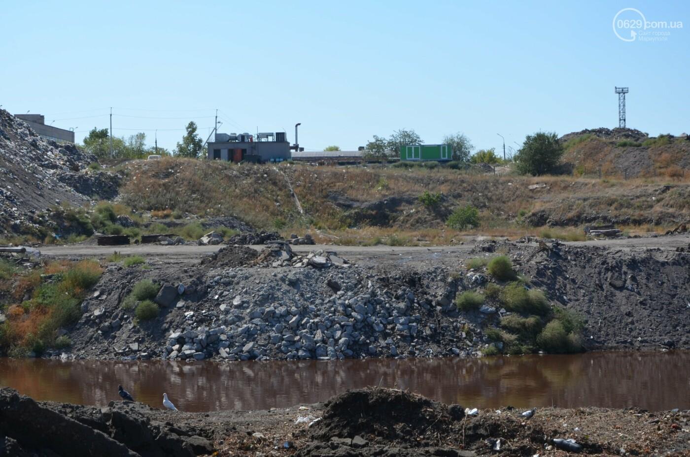 Как в Мариуполе свалочный полигон готовится стать «электростанцией», - ФОТОРЕПОРТАЖ, фото-6