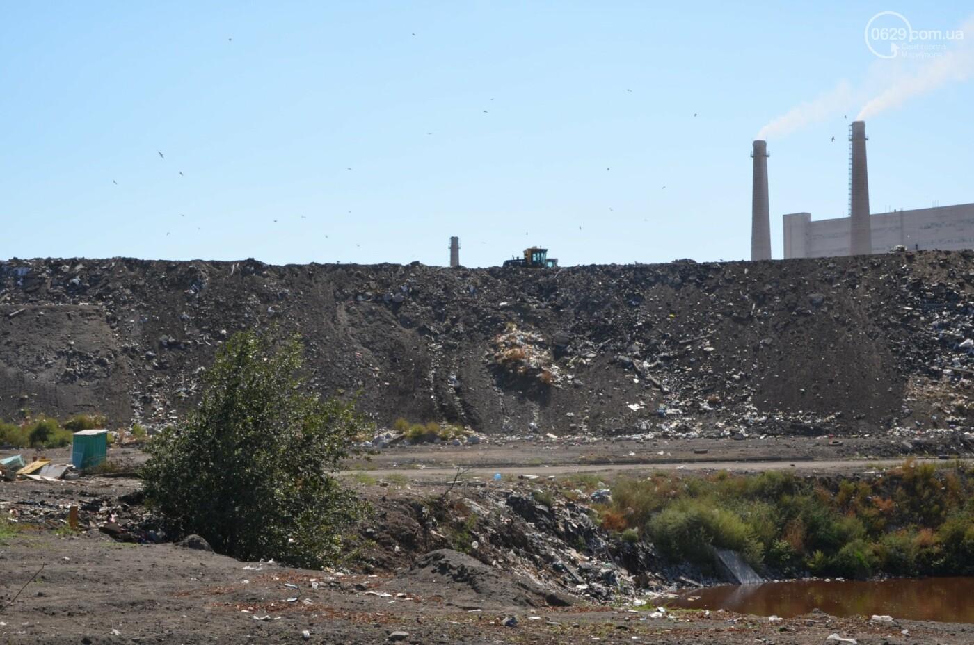 Как в Мариуполе свалочный полигон готовится стать «электростанцией», - ФОТОРЕПОРТАЖ, фото-7