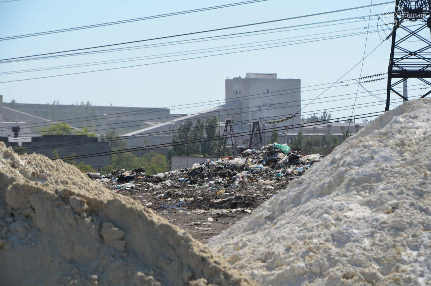 Как в Мариуполе свалочный полигон готовится стать «электростанцией», - ФОТОРЕПОРТАЖ, фото-15