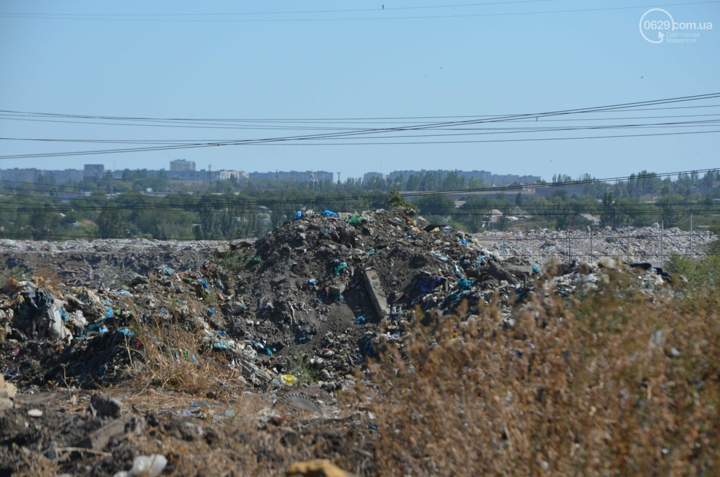 Как в Мариуполе свалочный полигон готовится стать «электростанцией», - ФОТОРЕПОРТАЖ, фото-13