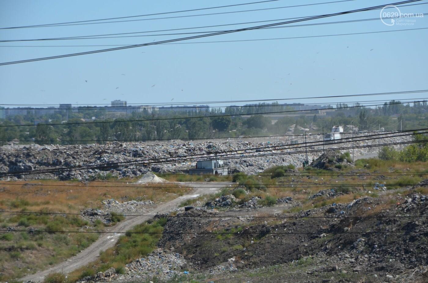 Как в Мариуполе свалочный полигон готовится стать «электростанцией», - ФОТОРЕПОРТАЖ, фото-14