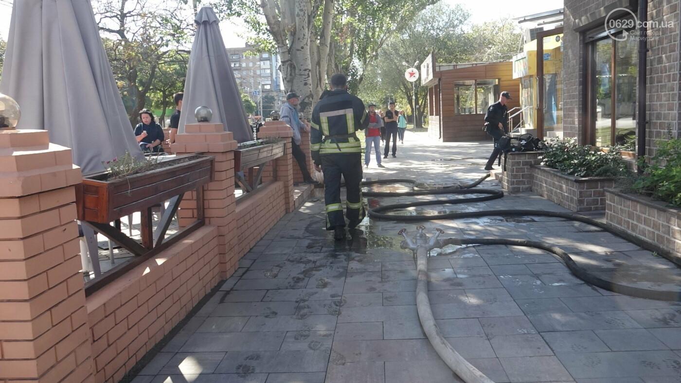 """В Мариуполе горело кафе """"BBQ"""",- ФОТО+ВИДЕО, фото-11"""