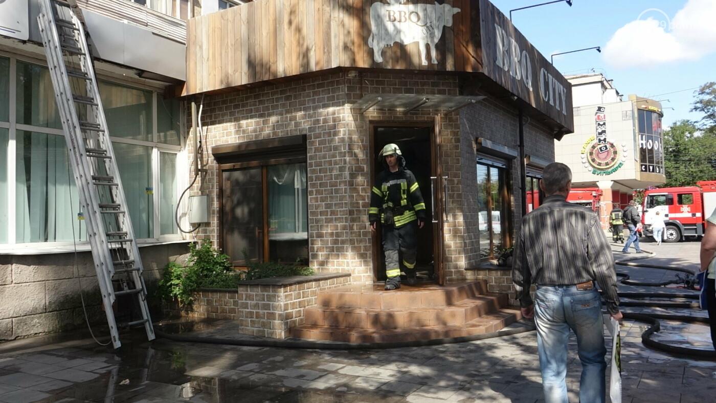 """В Мариуполе горело кафе """"BBQ"""",- ФОТО+ВИДЕО, фото-7"""