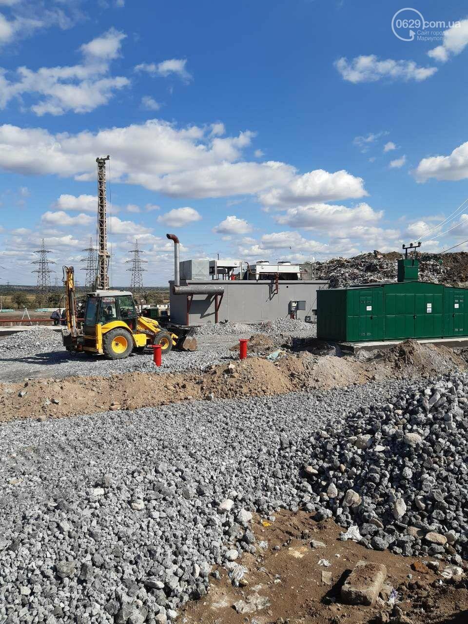 Как в Мариуполе свалочный полигон готовится стать «электростанцией», - ФОТОРЕПОРТАЖ, фото-17