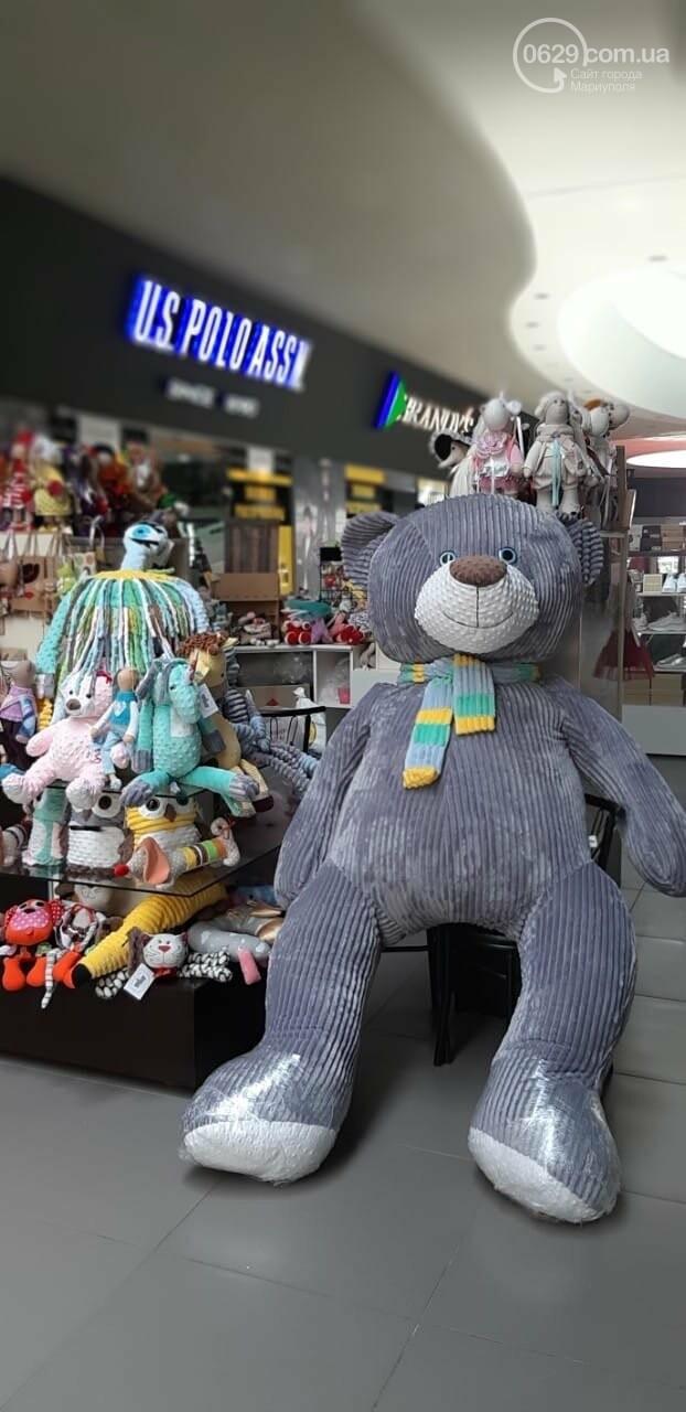 В мариупольском торговом центре украли трехметрового медведя,- ФОТОФАКТ, фото-1