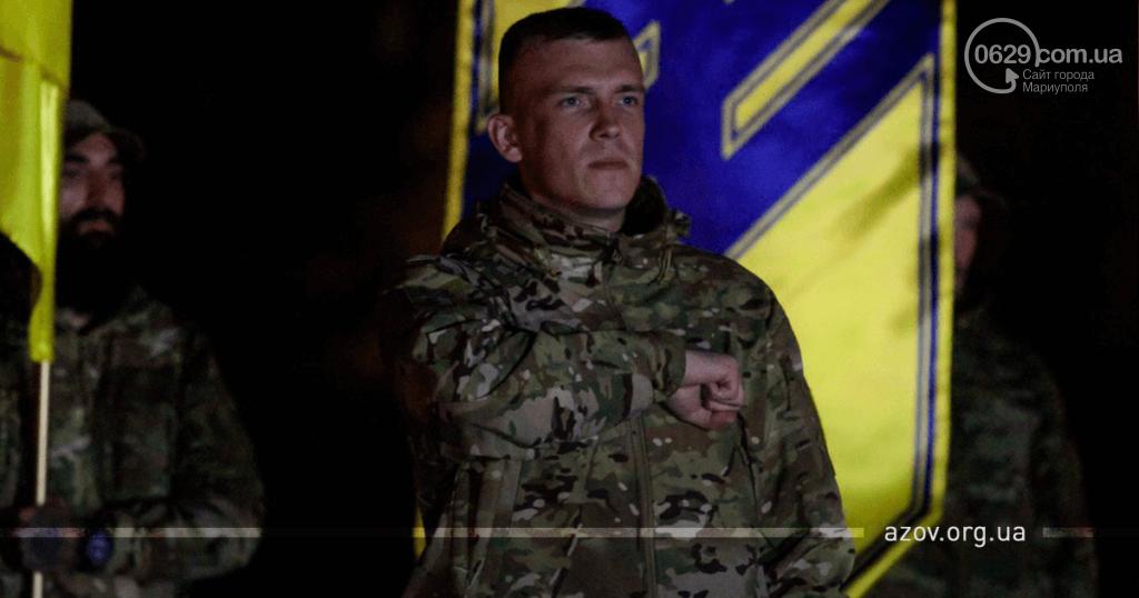 """В строю навечно. """"Азов"""" под Мариуполем почтил память погибших побратимов, - ФОТО, фото-6"""