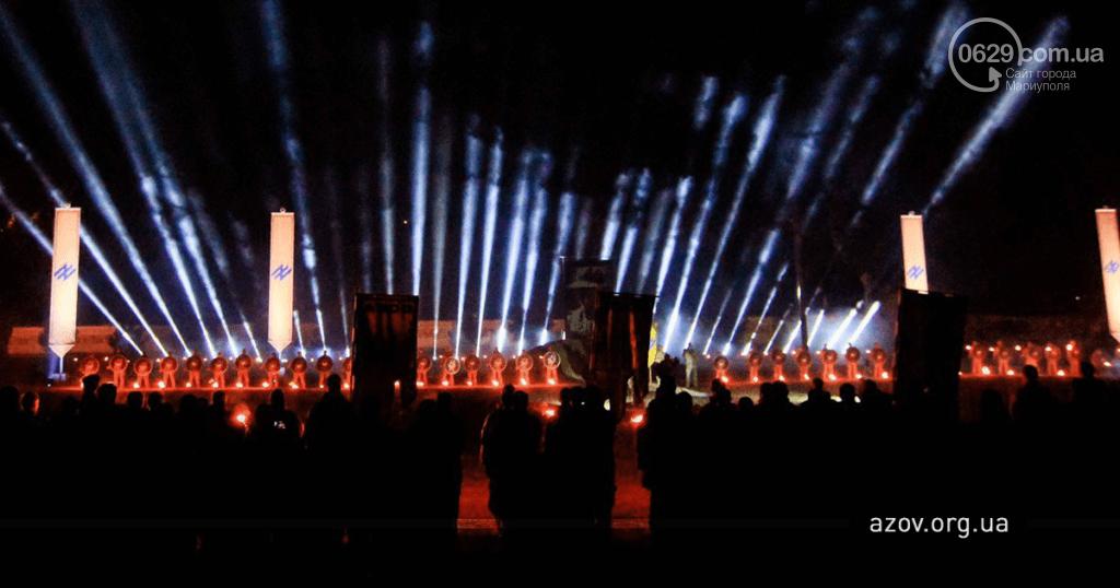 """В строю навечно. """"Азов"""" под Мариуполем почтил память погибших побратимов, - ФОТО, фото-5"""