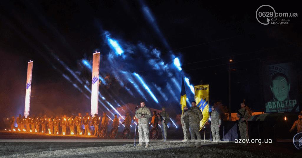 """В строю навечно. """"Азов"""" под Мариуполем почтил память погибших побратимов, - ФОТО, фото-4"""