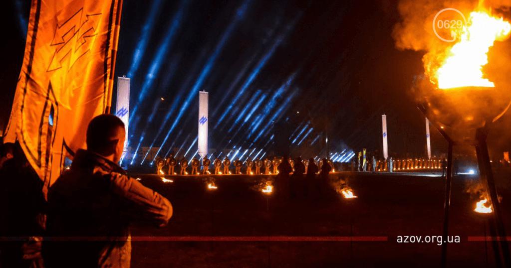 """В строю навечно. """"Азов"""" под Мариуполем почтил память погибших побратимов, - ФОТО, фото-3"""