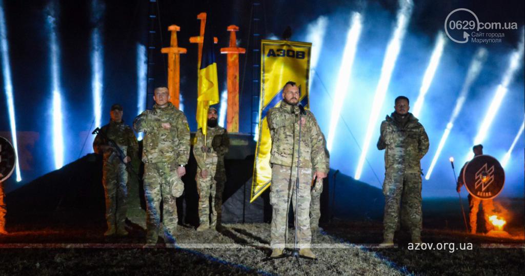 """В строю навечно. """"Азов"""" под Мариуполем почтил память погибших побратимов, - ФОТО, фото-1"""
