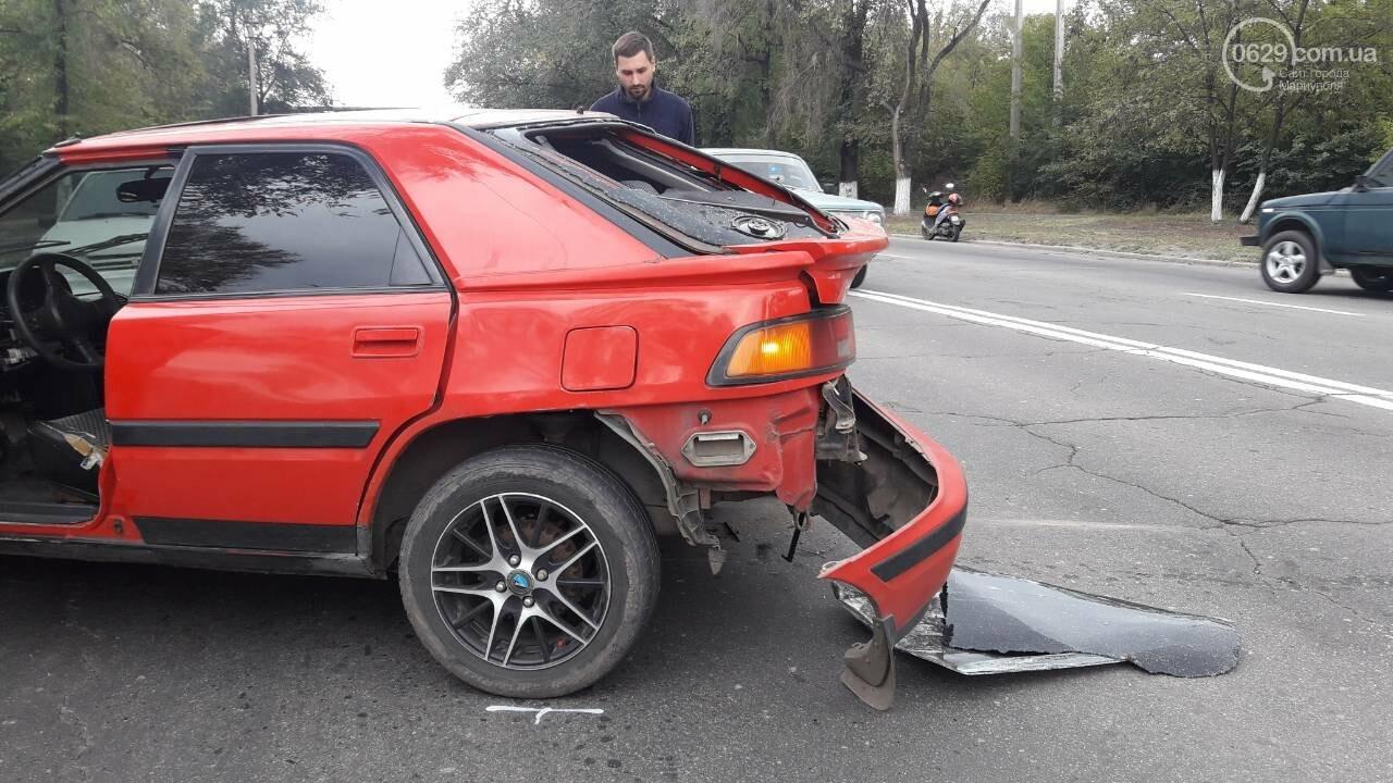 В Кальмиусском районе Daewoo догнал Mazda, - ФОТО, фото-3