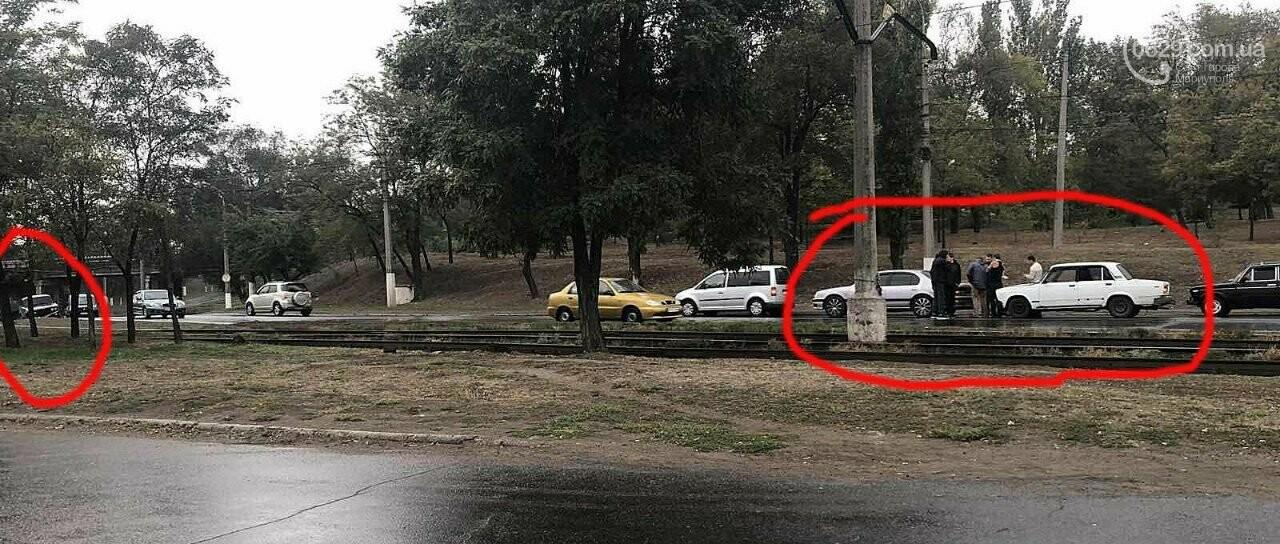 Два ДТП на одном месте. В Мариуполе одновременно столкнулись автомобили, - ФОТО, фото-3