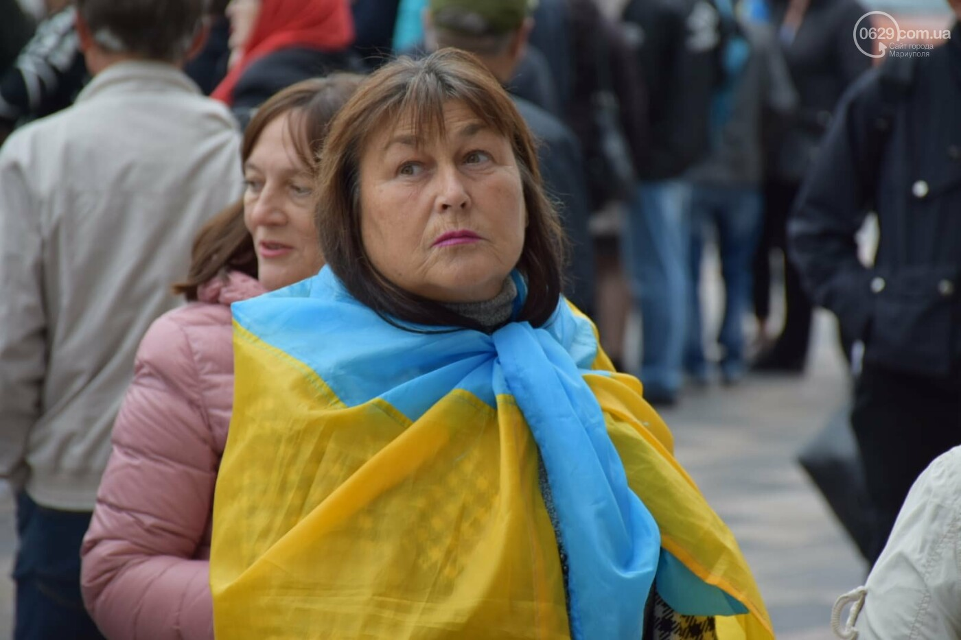 #НiКапітуляції. В Мариуполе прошел митинг против формулы Штайнмайера, - ФОТОРЕПОРТАЖ, фото-30