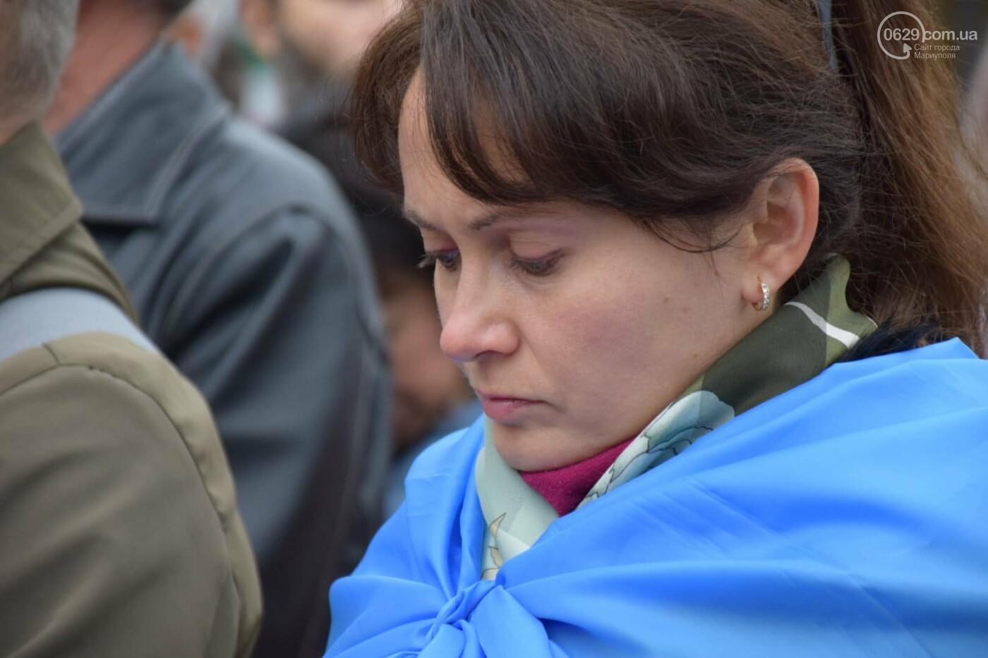 #НiКапітуляції. В Мариуполе прошел митинг против формулы Штайнмайера, - ФОТОРЕПОРТАЖ, фото-5