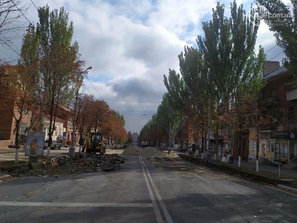Ремонт проспекта Мира в Мариуполе завершат 28 октября, - ФОТО, фото-4