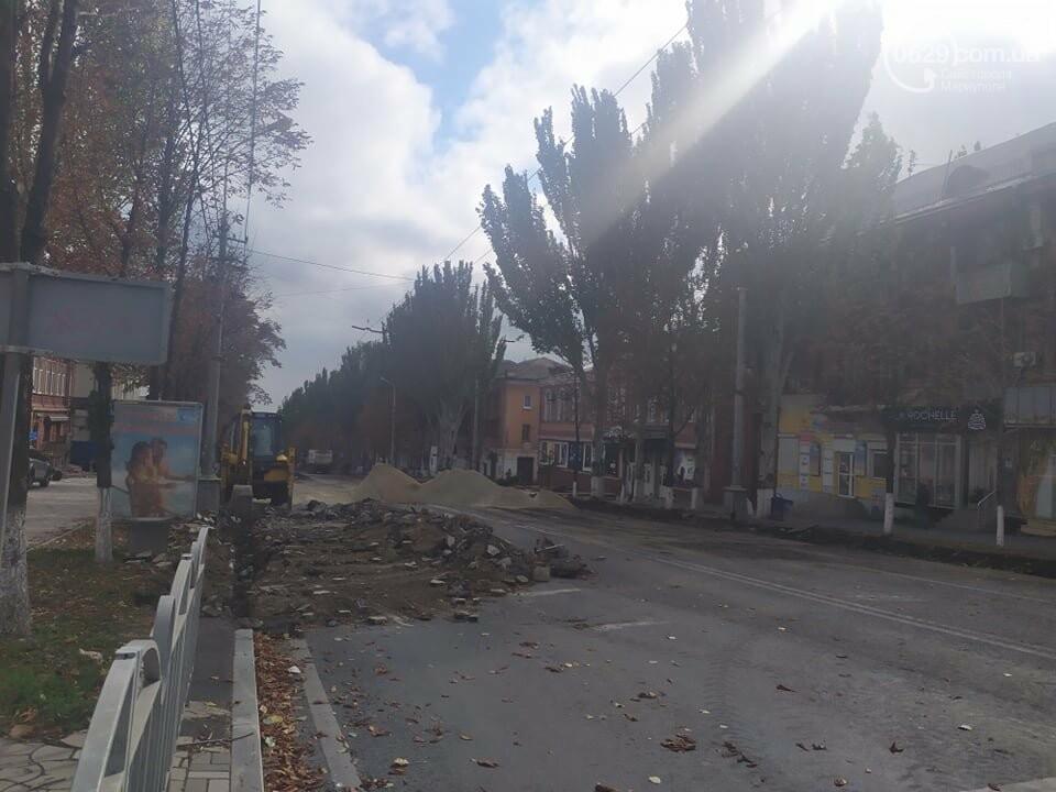 Ремонт проспекта Мира в Мариуполе завершат 28 октября, - ФОТО, фото-2