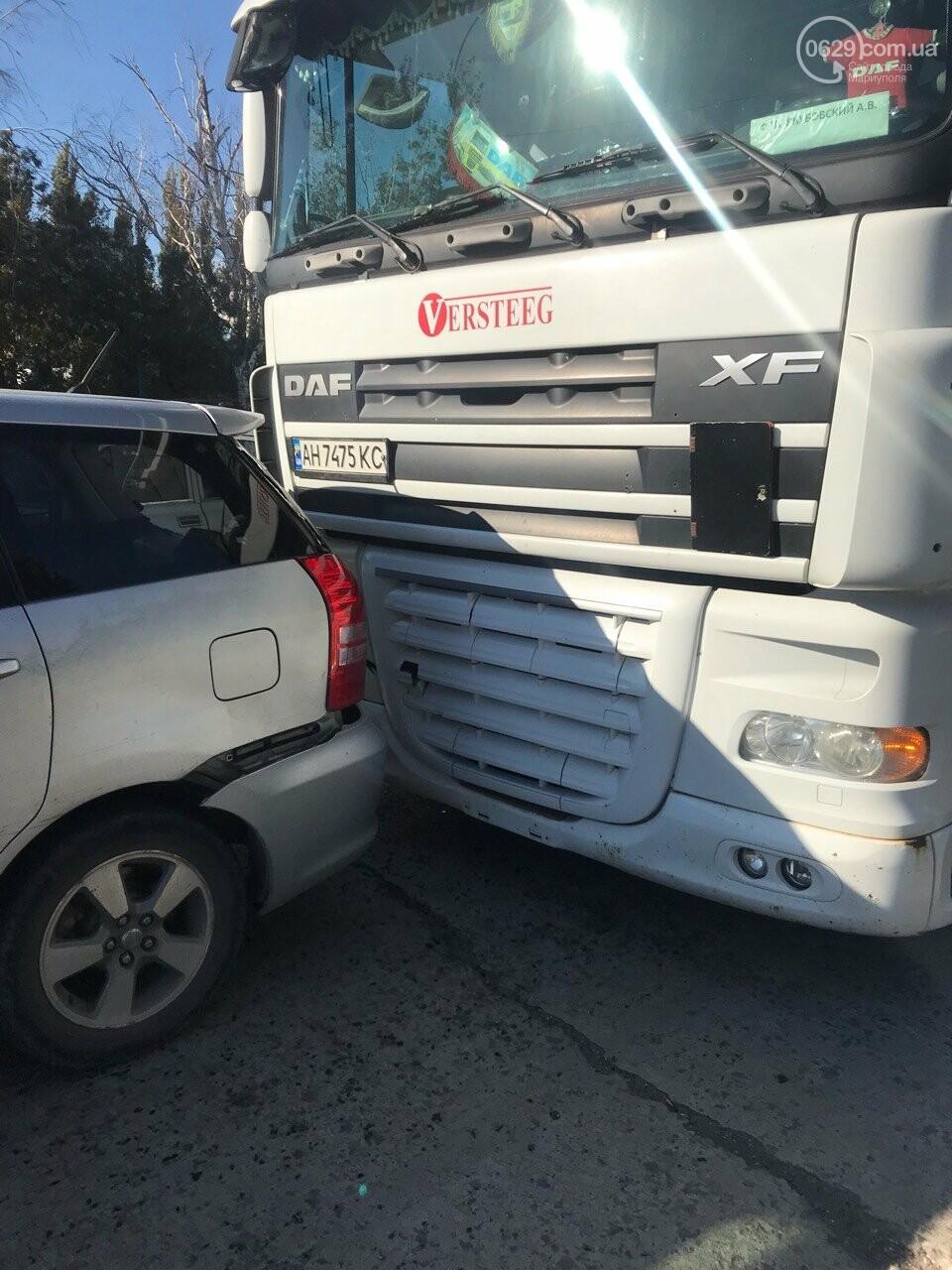 В Мариуполе слябовоз врезался в автомобиль, - ФОТО, фото-4