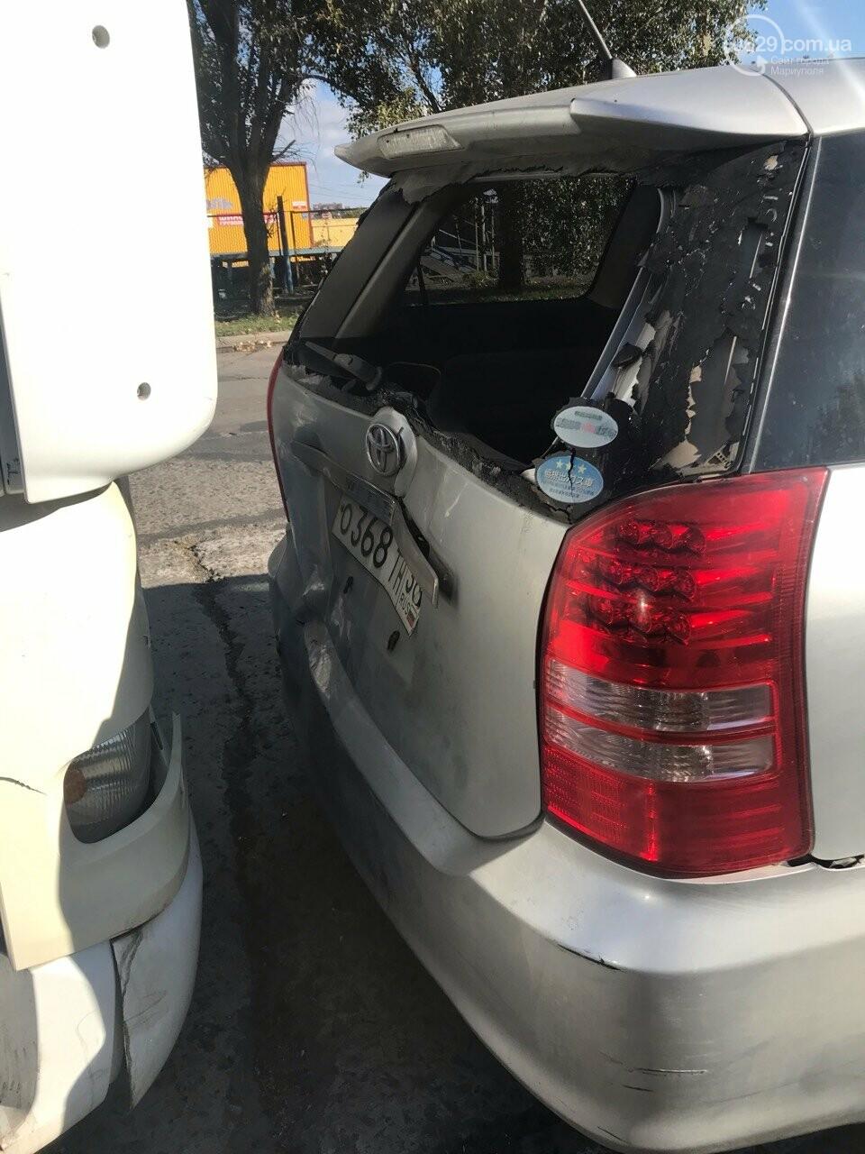 В Мариуполе слябовоз врезался в автомобиль, - ФОТО, фото-3