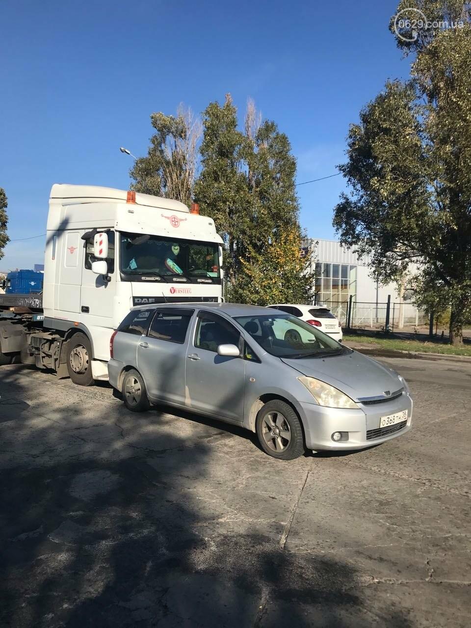 В Мариуполе слябовоз врезался в автомобиль, - ФОТО, фото-2