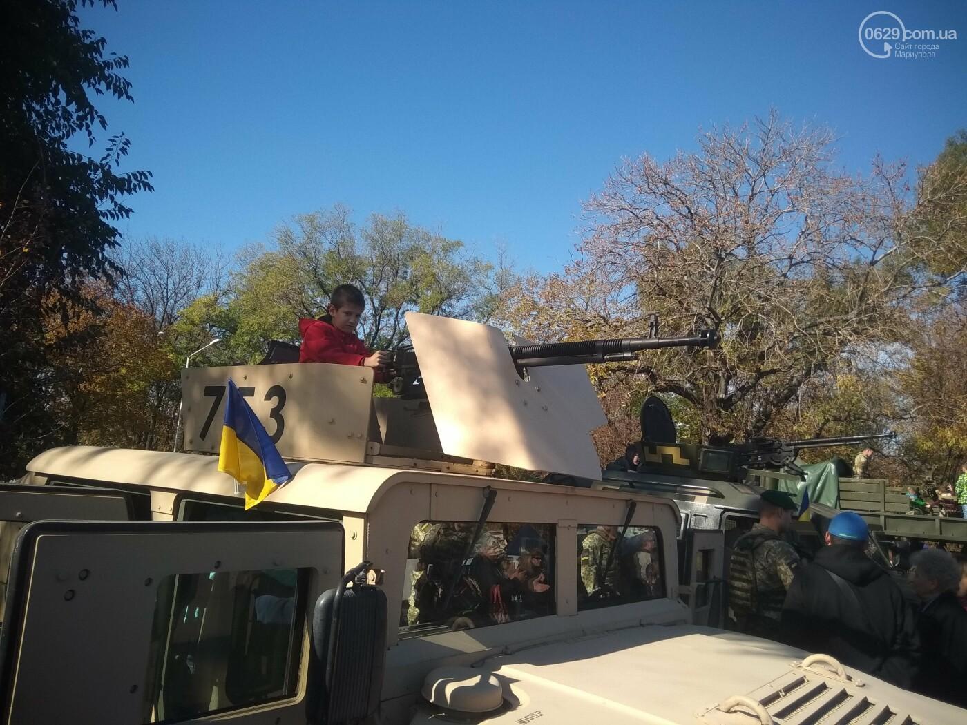 Мариупольцы празднуют День защитника Украины, - ФОТОРЕПОРТАЖ , фото-1