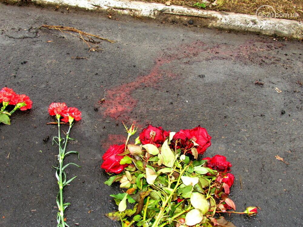 В Сартане почтили память погибших во время вражеского обстрела похоронной процессии, - ФОТО , фото-1