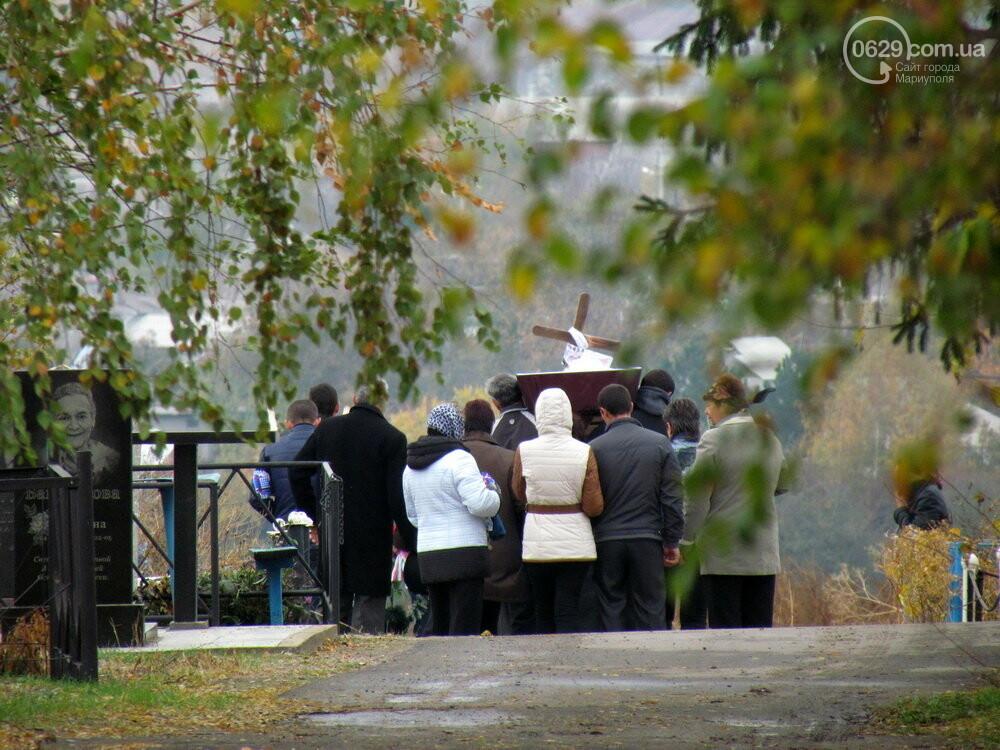 В Сартане почтили память погибших во время вражеского обстрела похоронной процессии, - ФОТО , фото-3