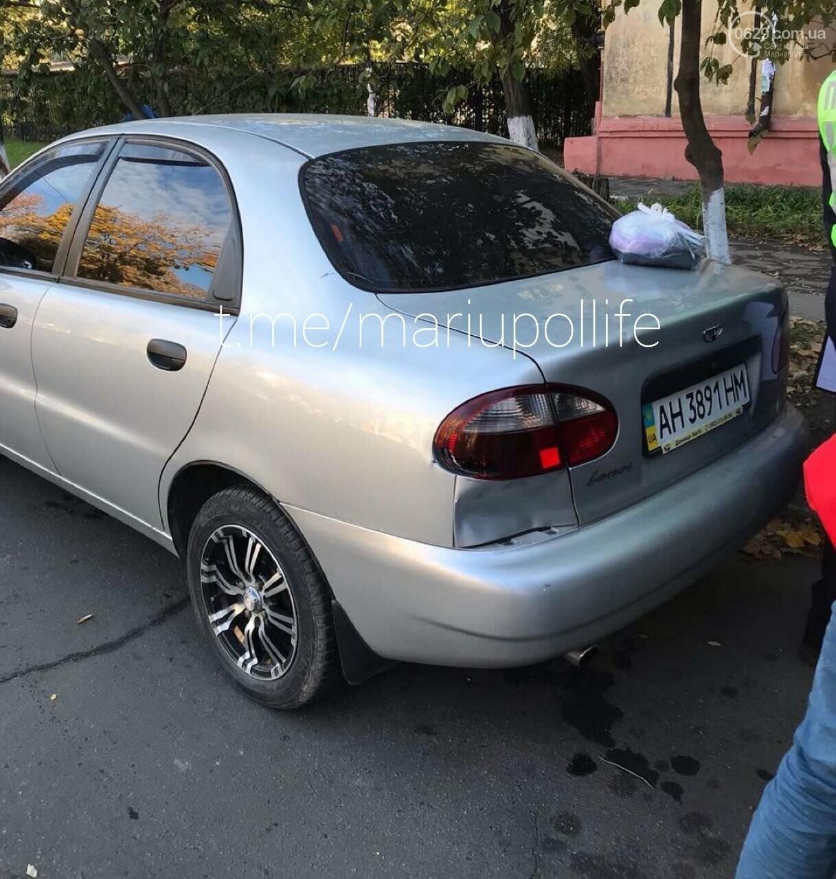 Пьяный мариуполец на электроскутере врезался в автомобиль,- ФОТО, ВИДЕО, фото-1