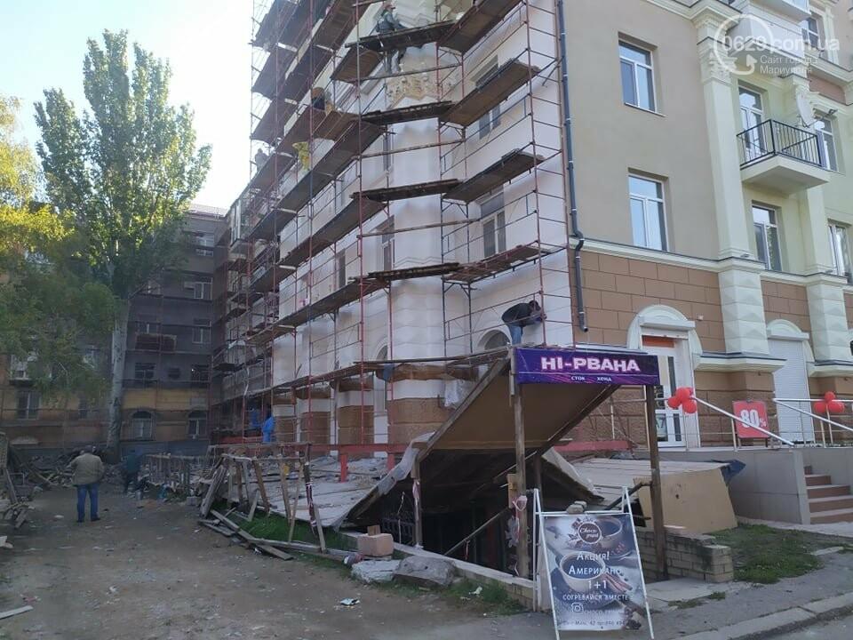 Стало известно, когда в Мариуполе закончится реставрация домов вокруг Театрального сквера, - ФОТО, фото-5