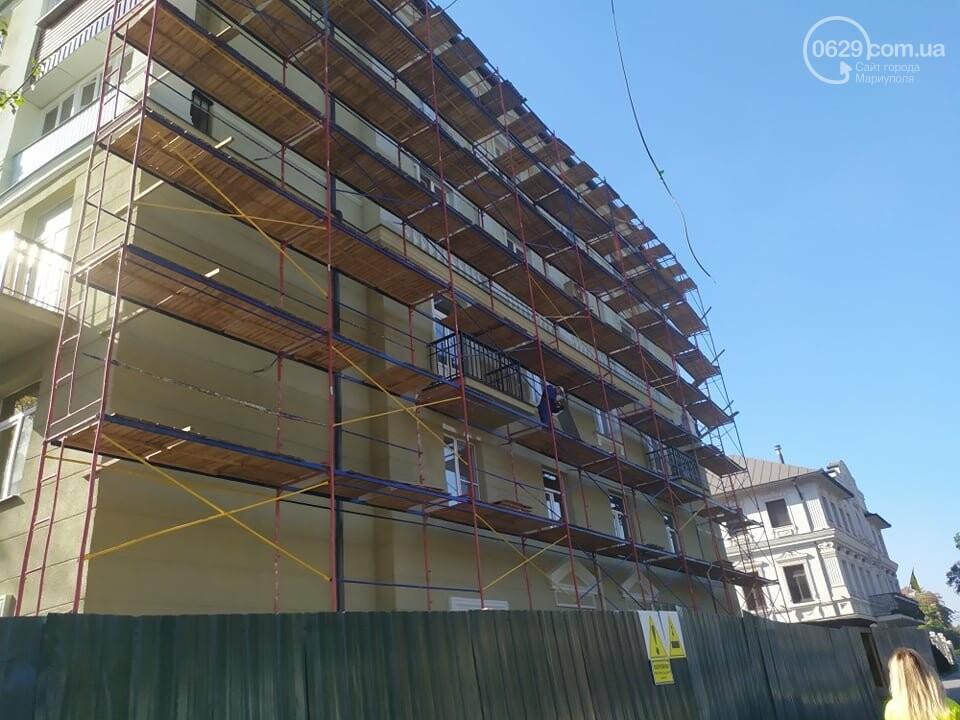 Стало известно, когда в Мариуполе закончится реставрация домов вокруг Театрального сквера, - ФОТО, фото-3