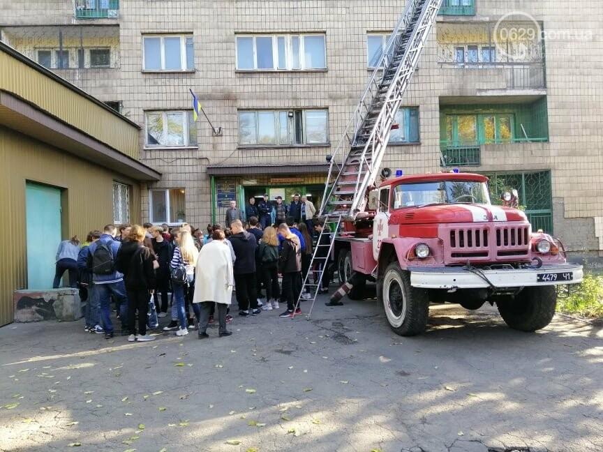 Студентов ПГТУ  в Мариуполе срочно эвакуировали из общежития спасатели,- ФОТО, фото-1