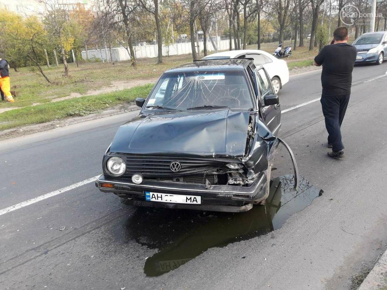 """Тройное ДТП возле """"ПортСити"""" в Мариуполе. Один из водителей покинул место аварии, - ФОТО, ВИДЕО, фото-2"""