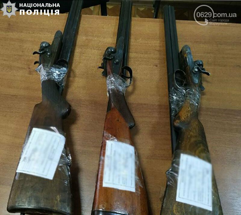 Мариупольцы сдали 47 единиц оружия в полицию, - ФОТО, фото-1