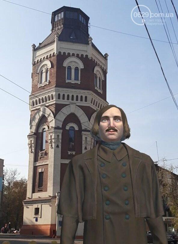 По Мариуполю будет ходить виртуальный Гоголь и рассказывать о городе, - ФОТО, фото-4