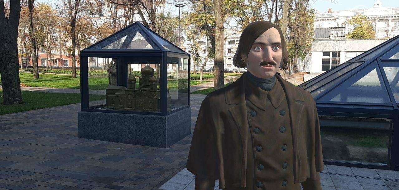 По Мариуполю будет ходить виртуальный Гоголь и рассказывать о городе, - ФОТО, фото-1