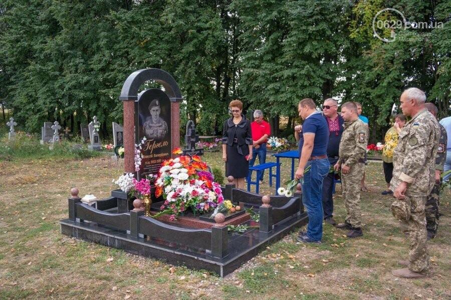 Морпех получил смертельное ранение под Мариуполем, - ФОТО, фото-2