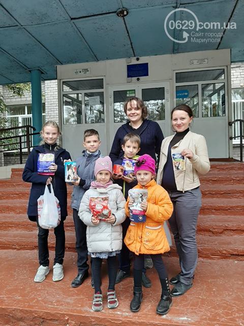 Мариупольские школьники собрали больше 200 кг корма для животных, фото-1