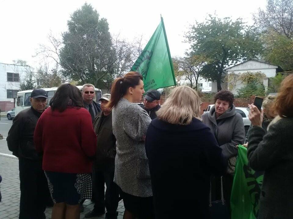 В Мариуполе под стенами мэрии митинговали против реорганизации 5 горбольницы, фото-9