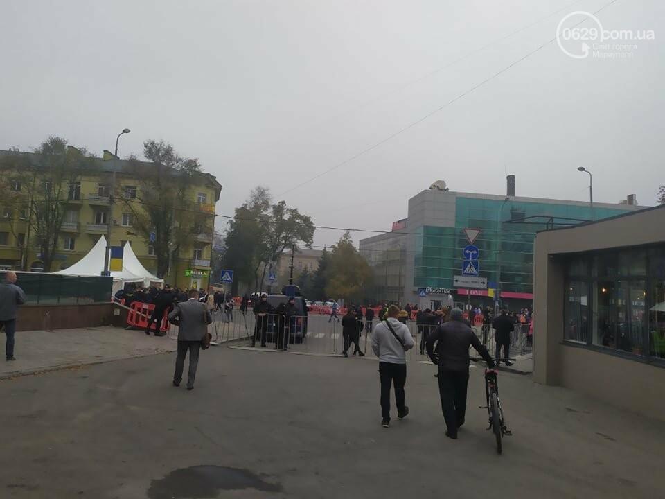 Из-за форума центр Мариуполя перекрыт полицией, - ФОТО, фото-10