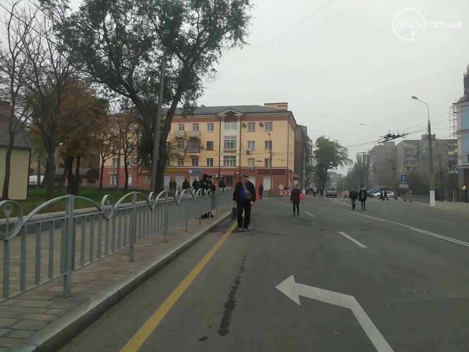 Из-за форума центр Мариуполя перекрыт полицией, - ФОТО, фото-12