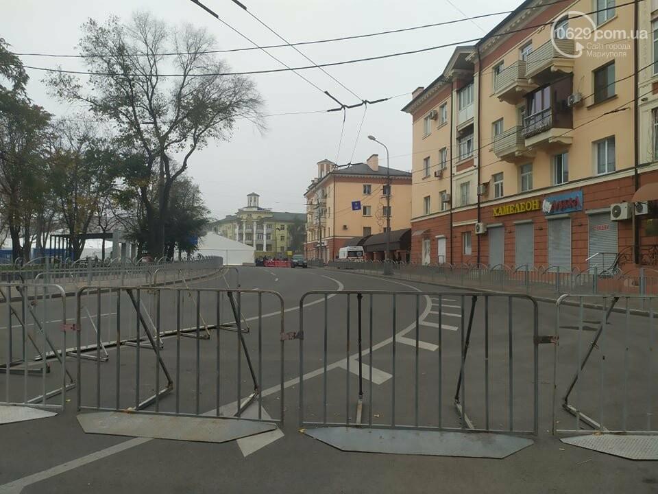 Из-за форума центр Мариуполя перекрыт полицией, - ФОТО, фото-13