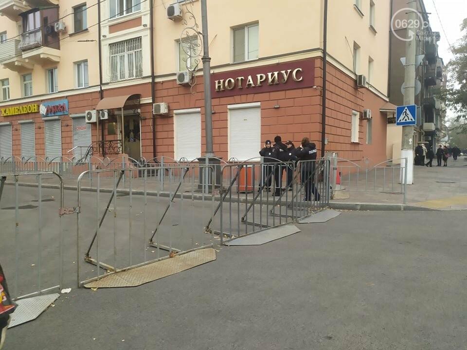 Из-за форума центр Мариуполя перекрыт полицией, - ФОТО, фото-11
