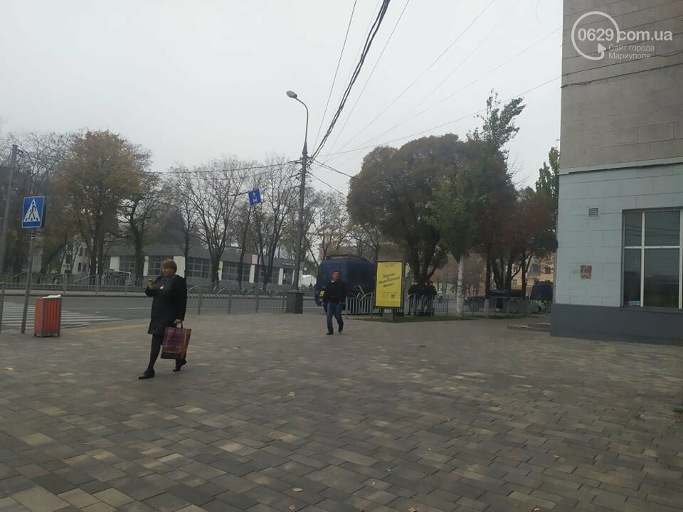 Из-за форума центр Мариуполя перекрыт полицией, - ФОТО, фото-15