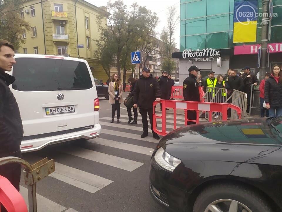 Из-за форума центр Мариуполя перекрыт полицией, - ФОТО, фото-21