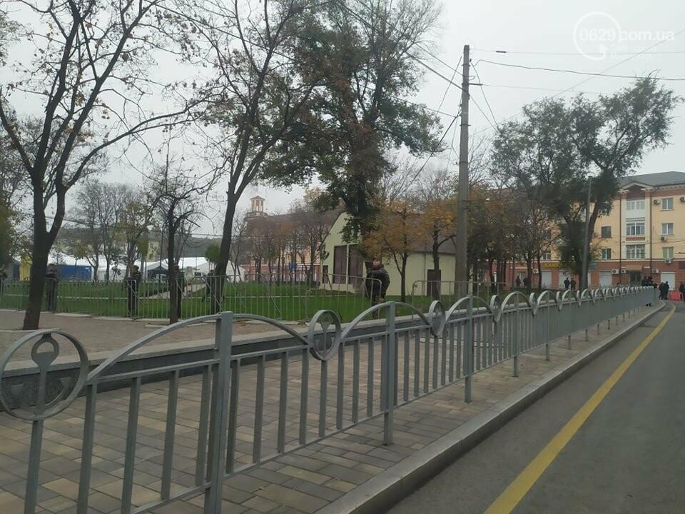 Из-за форума центр Мариуполя перекрыт полицией, - ФОТО, фото-5