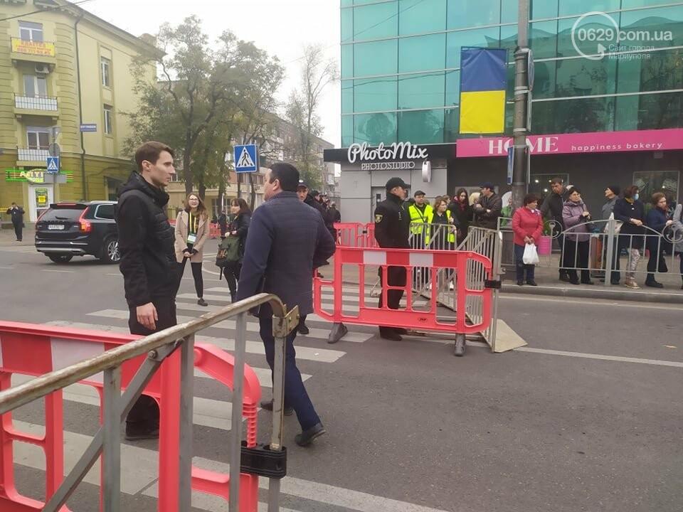 Из-за форума центр Мариуполя перекрыт полицией, - ФОТО, фото-22